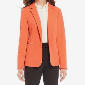 Investments Open Front Textured Jacket